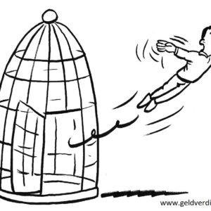 '5tips om uit je gouden kooi te komen' door Tony de Bree