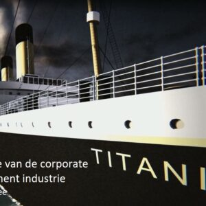 'Corona: het einde van de corporate management industrie' door Tony de Bree