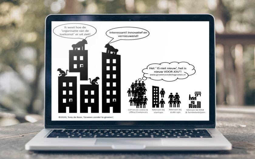 'De organisatie van de toekomst' bestaat al lang' door Tony de Bree