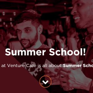 'Join Tony de Bree during the Summer School At the Venture Cafe In Rotterdam' by Tony de Bree