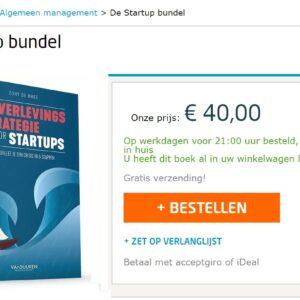 '[AANBIEDING]: Richt nu je startup op met deze doe-het-zelf Startup Bundel' door Tony de Bree