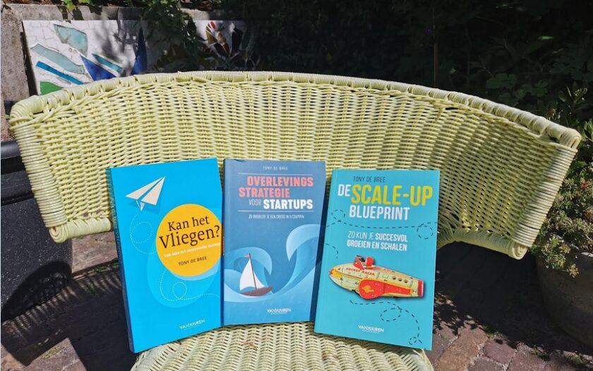 'Startup & Scaleup doe-het-zelf leerpakket' door Tony de Bree