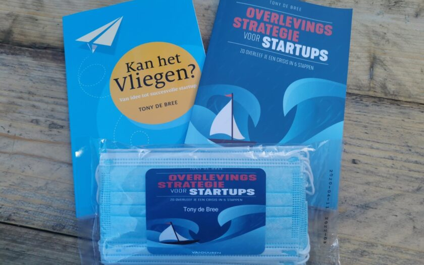 'Win This Special Covid-19 'Startup Package' Including Mouth Caps at The Venture Café Tonight' by Tony de Bree