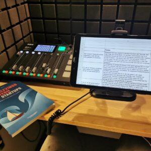 'Overlevingsstrategie voor startups' nu ook als audioboek beschikbaar' door Tony de Bree
