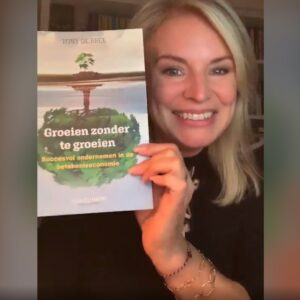 Pernille La Lau in 'Groeien zonder te groeien' van Tony de Bree