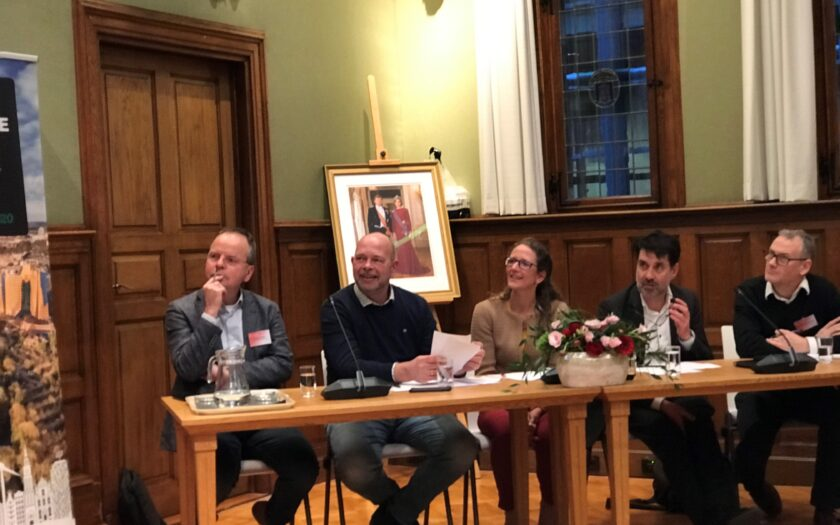 Groningen Sustainable Business Challenge 2020 Jury with Tony de Bree